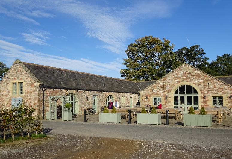 Lanercost Priory tearoom
